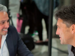 Jamie Durie and Richard Misso