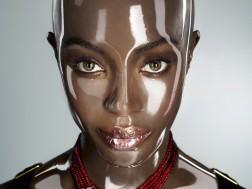 Naomi Campbell by Seb Janiak