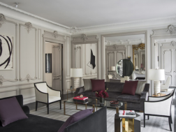 Parisian apartment by Laurent Champeau and Kelli Wilde