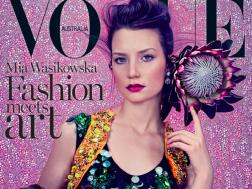 Mia Wasikowska Vogue Australia