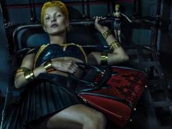 Kate Moss+Alexander McQueen