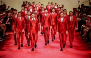 Dolce & Gabbana seeing red