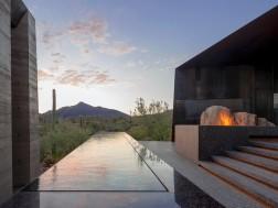 Desert house by Wendell Burnette Architects