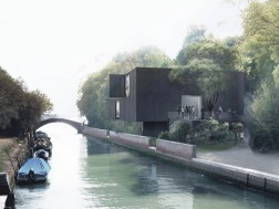 Canal pavilion Denton Corker Marshall