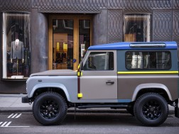 Paul Smith and the Defender