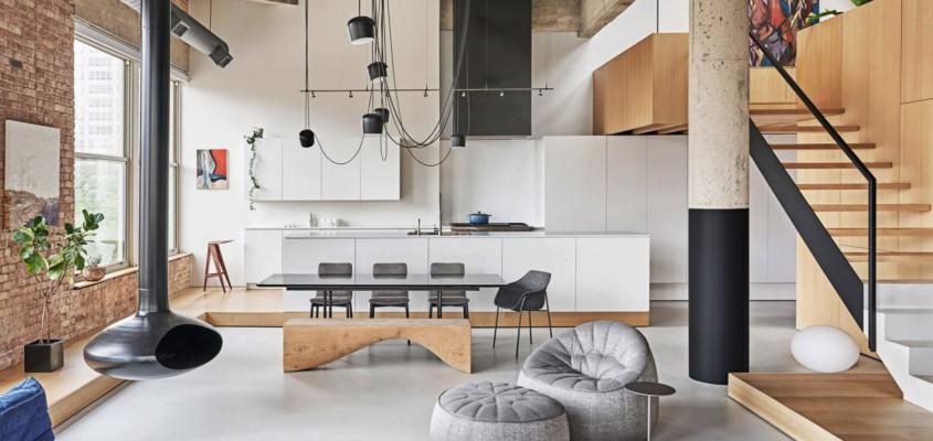 Crafted living environment – Michigan Loft