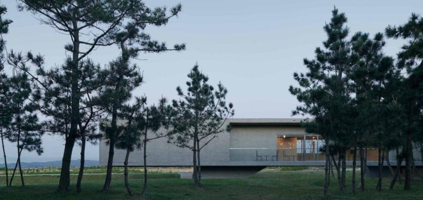 Swan Lake Bridge House –  China