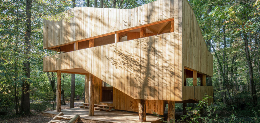 A house made of wood – France