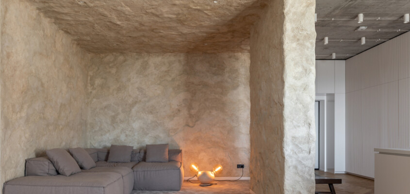 Cave living within a skyscraper
