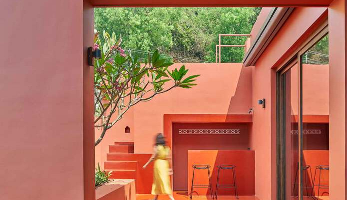 Red Earth house