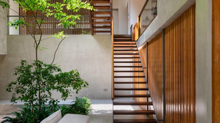 Courtyard house Sri Lanka
