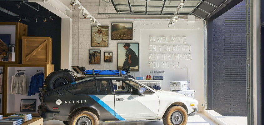 AETHER Apparel Flagship Store – LA